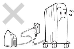 オイルヒーターの注意点